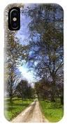 The Summer Farm Track Art IPhone Case