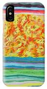 The Sun Drinks The Ocean And Eats The Sky IPhone Case