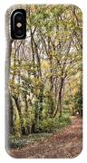 The Woods In Autumn IPhone Case