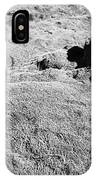 Thick Moss Covered Lava Fields At Hellisheidi Due To The Hengill Volcano Iceland IPhone Case