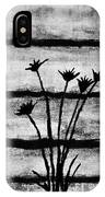 Thistles By The Barn IPhone Case