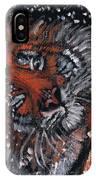 Tiger Bathing IPhone Case