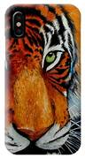 Tiger, Tiger Burning Bright... IPhone Case