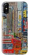 Times Square IPhone Case