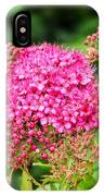 Tiny Pink Spirea Flowers IPhone Case