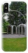 Toledo Botanical Garden Arches IPhone Case