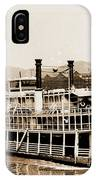 Tom Greene River Boat IPhone Case