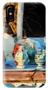 traditional tunis ceramics, Djerba, 07 Nov 2014 IPhone Case