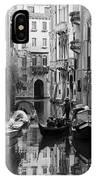 Traditional Venetian Gondolier IPhone Case