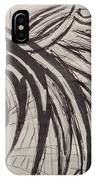 Tribal Wing Sketch IPhone Case