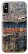 Tumbledown Barn IPhone Case