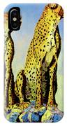 Two Cheetahs IPhone Case