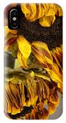 Two Sunflowers Tournesols IPhone Case
