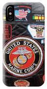 Us Marine Corps Viet Nam Veteran Peart Park Casa Grande Arizona 2005 IPhone Case