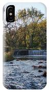 Valley Creek Waterfall - Valley Forge Pa IPhone Case