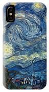 Van Gogh Starry Night IPhone Case