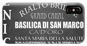 Venice Famous Landmarks IPhone X Case