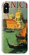 Venice, Italy, Gondolas IPhone Case