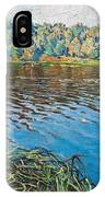 View Of The Lake Nikolai Petrovich Bogdanov-belsky IPhone Case