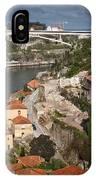 Vila Nova De Gaia And Porto In Portugal IPhone Case