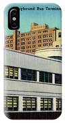 Vintage Cincinnati Postcard IPhone Case
