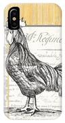 Vintage Farm 1 IPhone Case by Debbie DeWitt