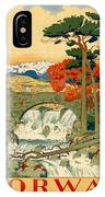 Vintage Poster - Norway IPhone Case