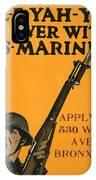 Vintage Recruitment Poster IPhone Case