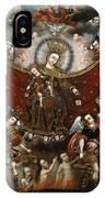 Virgin Of Carmel Saving Souls In Purgatory IPhone Case