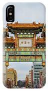 Washington D.c. Chinatown IPhone Case