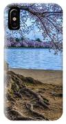 Washington Monument Cherry Blossoms IPhone Case