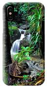 Waterfall El Yunque National Forest IPhone Case