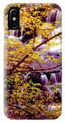 Waterfalls And Fall Colors IPhone Case