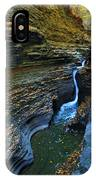 Watkins Glen Gorge IPhone Case