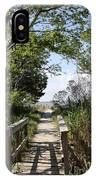 Way To The Beach IPhone Case