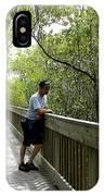 Weedon Island Boardwalk  IPhone Case