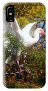 White Ibis IPhone Case