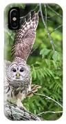 Whooo Goes There IPhone Case