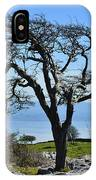 Wind Distorted Tree. IPhone Case