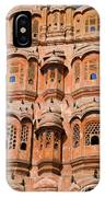 Wind Palace - Jaipur IPhone Case