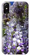 Wisteria Cascading IPhone Case