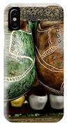 Wooden Shoes IPhone Case