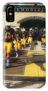 Wyoming Cowboys Entering The Field IPhone Case