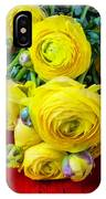 Yellow Ranunculus IPhone Case
