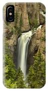 Yellowstone Tower Falls 2018 IPhone Case