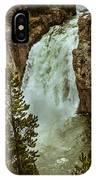 Yellowstone Upper Falls IPhone Case