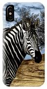 Zebra Outback  IPhone Case