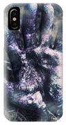 Zombie Rising From A Shallow Grave IPhone Case