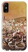 Zurich Skyline IPhone Case