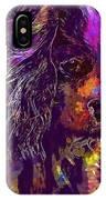 Dog Cavalier King Charles Spaniel  IPhone Case